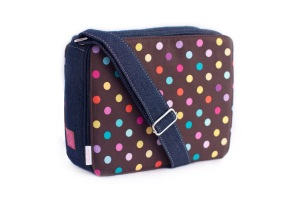 Booie Bag with Dottie Panel