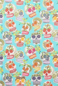 Cita panel - updated skull print - Fall 2013 Children's trend