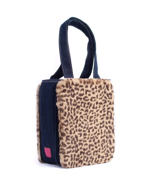 Tommie Tote with Ali panel - animal print is trendy for Fall 2013