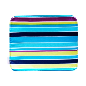 Liz - multi-color striped handbag
